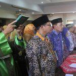 Pelantikan kepala sekolah dan pejabat fungsional di lantai IV Gedung Setda Rembang, Jum'at (28/12).