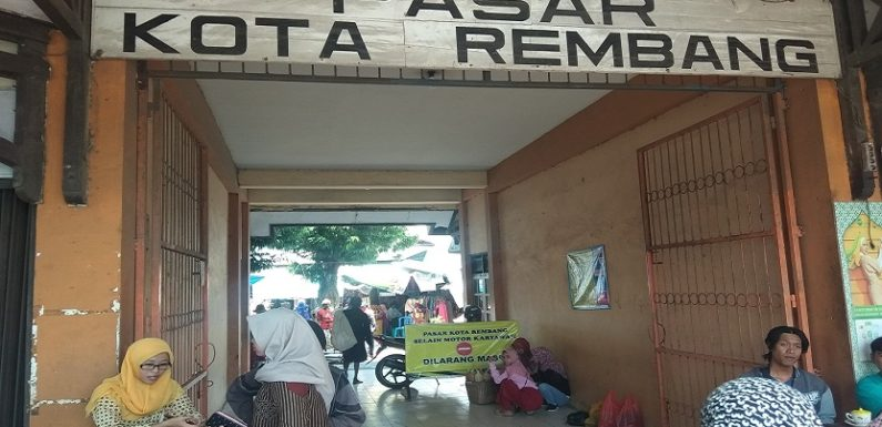 Pemindahan Pasar Rembang Ditunda, Ada Dua Kegiatan Yang Ingin Dituntaskan Lebih Dulu