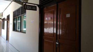 Ruang sidang anak di Pengadilan Negeri Rembang.