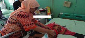 Ruang anak rumah sakit dr. R. Soetrasno Rembang.