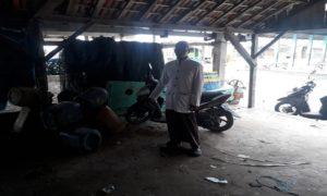 TKP Curanmor di tempat pelelangan ikan (TPI) Karanganyar, Kragan.