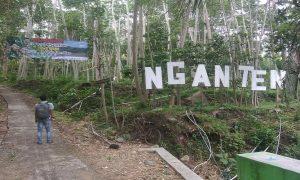 Akses jalan masuk menuju kawasan kebun duku di Desa Woro Kecamatan Kragan. (Gambar atas) Petani sibuk memanen buah duku, Senin siang (24/12).