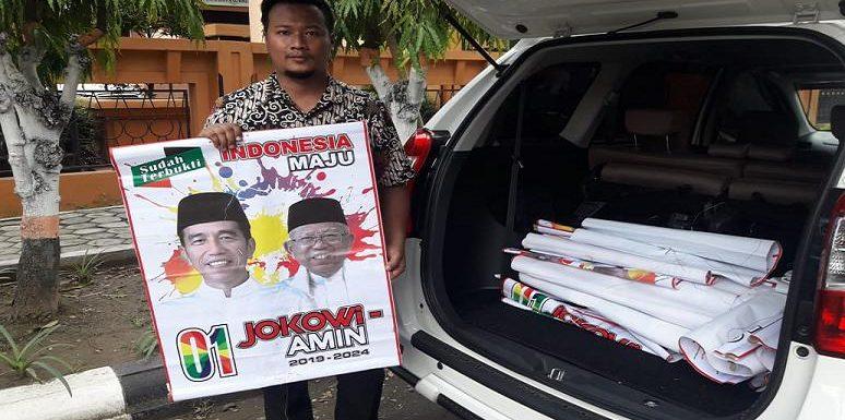Terhitung Baru Dipasang, Bawaslu Ungkap Alasan Penertiban Atribut Jokowi – Ma'ruf