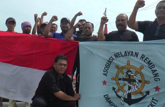 Jelang Pemilu, Nelayan Cantrang Rembang Serukan Pernyataan Sikap