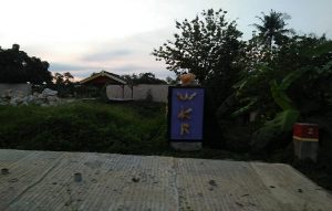 Bagian depan pabrik gula di Desa Kemadu, Kecamatan Sulang.