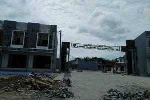 Proyek pembangunan ruko di dekat Masjid Pamotan, dengan anggaran Pemkab Rembang. Gambar diambil beberapa waktu lalu, awal bulan Desember 2018.