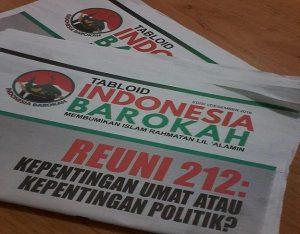 Tabloid Indonesia Barokah sudah masuk wilayah Kabupaten Rembang. Isi tabloid dinilai menyudutkan pasangan Prabowo – Sandi.