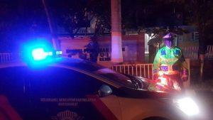Polisi di Rembang menggencarkan blue light patrol, yang belakangan waktunya digeser. Salah satunya untuk mengantisipasi teror pembakaran kendaraan.