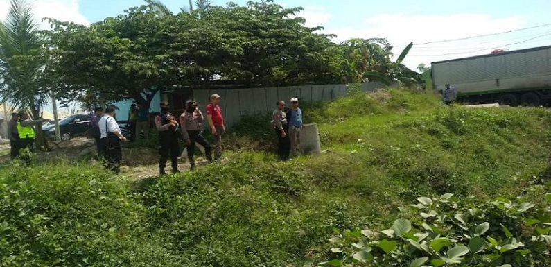 Dijaga Ketat Polisi, Bupati Ungkap Tujuan Pengukuran Lahan Pelabuhan