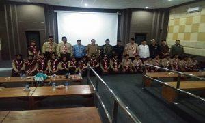 Kontingen dari Kabupaten Rembang dilepas untuk mengikuti Perkemahan Penggalang Ma'arif Nasional (Pergamanas) II di Cibubur.