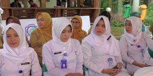 Tenaga kesehatan di rumah sakit dr. R. Soetrasno Rembang.