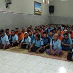 Suasana sosialisasi Pemilu di Rutan Rembang, Sabtu (09/02).