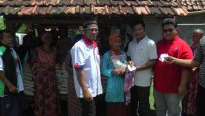 Kegiatan Bazar beras murah di Dusun Sumberagung, Desa Karangasem, Kecamatan Bulu, Rabu (13/03).
