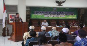 Bupati Rembang, Abdul Hafidz mewanti – wanti penerima dana hibah, Rabu (13/03).