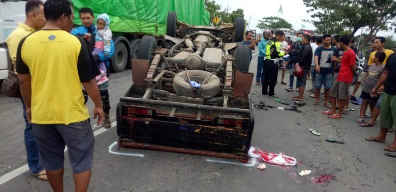 Kecelakaan Maut : Mengejutkan, Sosok Sopir L 300 Yang Terbalik