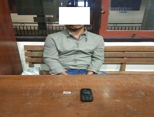 Ditangkap, Pria Tidak Lulus SD Bawa Sabu – Sabu