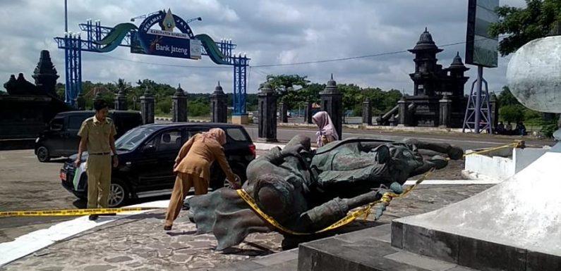 Didesak Perbaikan Patung Diponegoro Ambruk, Begini Tanggapan Dinas Terkait