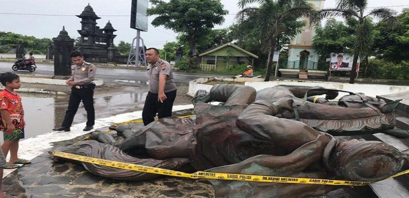 Tumbangnya Pangeran Diponegoro Berkuda, Tak Ada Lagi Ikon Perbatasan Dua Provinsi