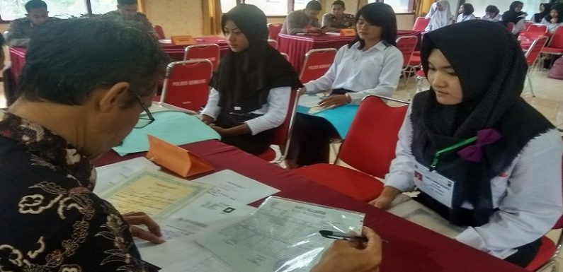 Pendaftar Calon Anggota Polri Di Rembang Meningkat, Begini Rincian Bintara & Tamtama