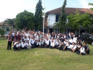 Peserta seleksi PPPK di Kabupaten Rembang melakukan sesi foto bareng, beberapa waktu lalu.