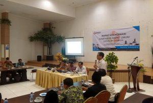 Rapat koordinasi membahas kampanye rapat umum dan iklan di media, Selasa (19/03).