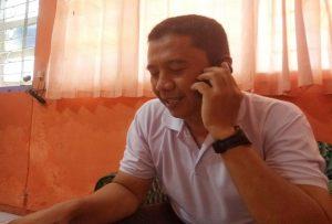 Sekretaris KPU Kabupaten Rembang, Satriyo Wibisono.