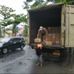 Surat suara untuk pemilihan DPD tiba di Rembang, Minggu (24/03).
