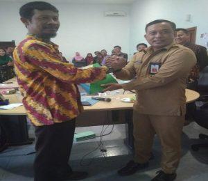 Suasana kunjungan rombongan dari Kabupaten Rembang di Malang, Jawa Timur.
