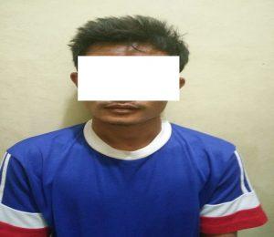 Tersangka pelaku, berinisial SH. (Gambar atas) Motor Yamaha N Max yang dicuri tersangka, diamankan pihak kepolisian.