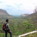 Kecamatan Pancur terpantau dari atas perbukitan (iwanloveindonesia).