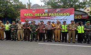 Bupati Rembang, Abdul Hafidz ketika bersama dengan jajaran TNI/Polri dan lintas sektoral, belum lama ini.