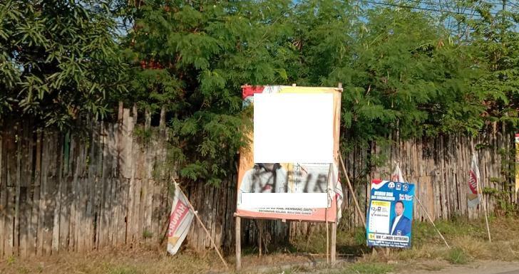 Ditanya Siapa Pemilox Kata Kafir, Pemilik Baliho kampanye Buka Suara