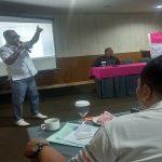 Pengurus KONI se Pati Raya menggelar rapat koordinasi di Hotel Fave Rembang, Selasa (30/04).