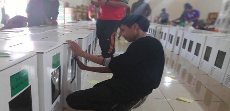 Distribusi Logistik Pemilu Ke Kecamatan, Pihak Ini Yang Digandeng KPU Rembang