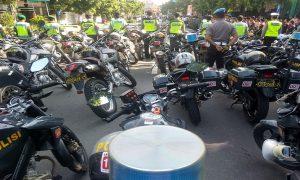 Polisi di Rembang siap siaga mengamankan Pemilu 17 April 2019.