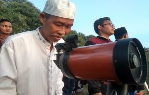 Zaenal Abidin, ahli ilmu falak di Kabupaten Rembang.