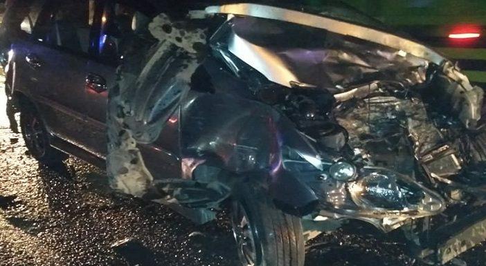 Mobil Wakil Ketua DPRD Rembang Rusak Parah Usai Tabrakan Beruntun, Polisi Beberkan Kronologis Kecelakaan