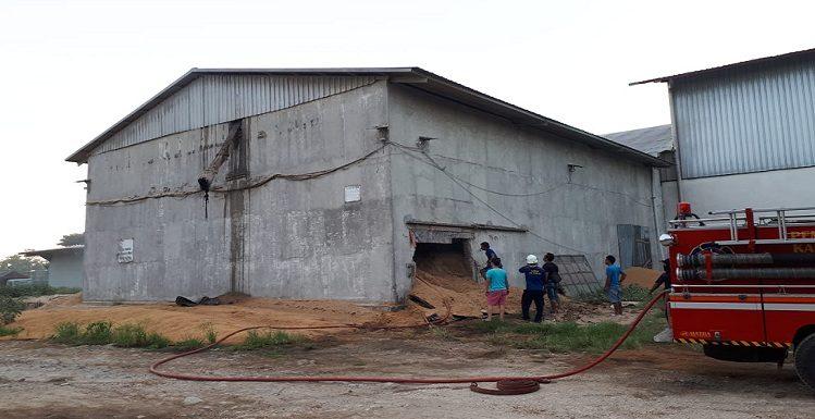Kebakaran Satroni Pabrik PT. Sari Buana, Ini Pemicunya