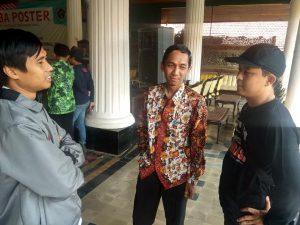 Sejumlah komisioner KPU Kabupaten Rembang, dalam sebuah kegiatan, belum lama ini.