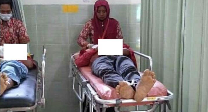 Tragis, Dua Orang Tewas Dihantam Mobil PT. Pos Indonesia