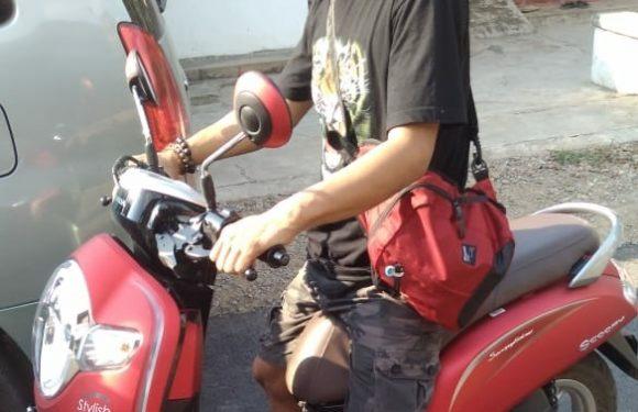 Tersangka Pencuri Gasak Motor Lengkap Dengan STNK & BPKB, Akhirnya Ditangkap