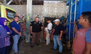 Anggota Polsek Kaliori mendatangi lokasi bengkel di Desa Wiroto yang menjadi sasaran pencurian, Rabu (08/05).