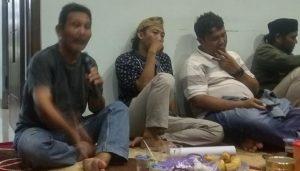 Daryono (memegang microphone) berniat maju dalam bursa pemilihan Ketua KONI Kabupaten Rembang.