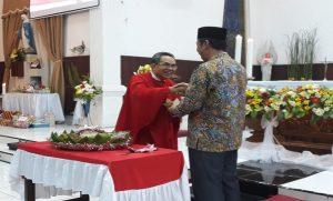 Peringatan HUT Gereja Katholik ke-65 dihadiri Bupati Rembang, Abdul Hafidz, Sabtu malam (29/06).