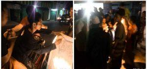 Suporter PSIR Rembang menggalang dukungan tanda tangan.