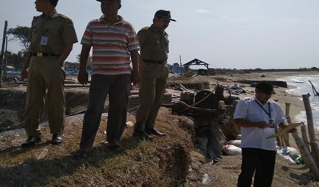 Pemprov Jateng Turun Mengecek, Pihak Daerah Usulkan Geo Bag Dulu