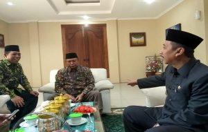 Bupati Rembang, Abdul Hafidz memerintahkan Sekda dan Kabag Humas untuk meneruskan informasi pelaksanaan sholat gerhana bulan kepada masyarakat, Selasa (17/07).