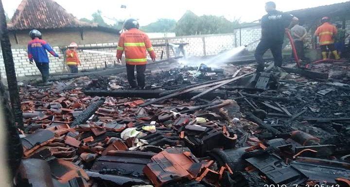 Ludeskan Rumah, Dugaan Pemicu Kebakaran Di Kasreman Terungkap