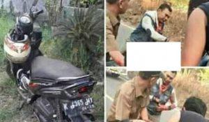 Kecelakaan lalu lintas di Desa Mantingan, Kecamatan Bulu, Senin sore (FB).
