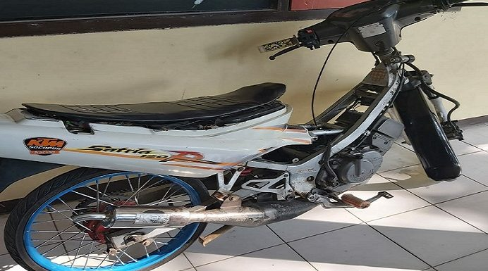 Oknum Suporter Bonek Nyolong Motor, Polisi Ungkap Alamat Tersangka